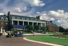 Michigan Masonic Home, 1200 Wright Avenue, Alma MI, Boulevard, Campus - Postcard