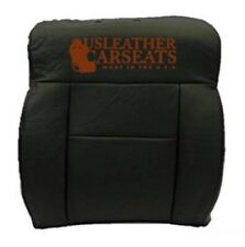 2005 Ford F150 Lariat Passenger Side Bottom Replacement Leather Seat Cover Black