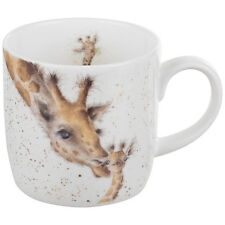 Royal Worcester Wrendale Design mug FIRST KISS Wrendale Designs GIRAFFE mug NEW