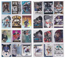 Goalie Numbered Insert Parallel SP RC Rookie NHL Hockey - You Choose