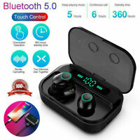 Mini Bluetooth 5.0 Headset TWS Drahtlose Kopfhörer Ohrhörer Stereo-Kopfhöre A5K6