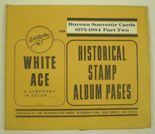 WHITE ACE Postal Stamp Albums for sale | eBay