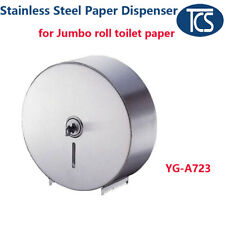 TCS NEW Stainless Steel Jumbo roll toilet paper Dispenser