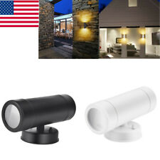 Waterproof Outdoor Patio Porch Led Wall Light Modern Up Down Double Wall Lamp
