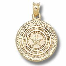 Baylor University Seal 10 kt Gold Pendant
