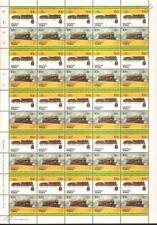 1923 NORD/SNCF SuperPacific 4-6-2 France Train 50-Stamp Sheet / LOCO 100 LOTW