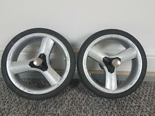 2x iCandy Peach 1 2 3 Rear Back Wheels Oiled USED CONDITION