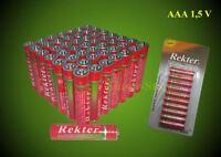 50 x AAA Batterien Neu, Micro, LR 03 Batterie, 1,5V bis 12/2022