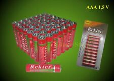 50 x AAA Batterie R3 Neu im  Blister 06/2020 Micro
