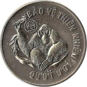 "Vietnam 10 Dong 1987 ""Orang Utan"""