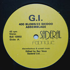 "400 Blows & 23 Skidoo – 400 Blows / 23 Skidoo Assemblage    Vinyl  12"""