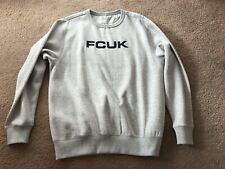 FCUK light grey sweatshirt size M - new