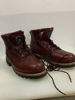 CAROLINA work boots~  men's size 12D , REDWOOD ~ NEW