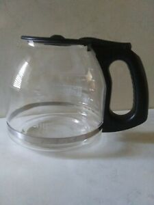 Mr. Coffee 12 Cup Coffee Carafe Glass Black Lid OEM Replacement
