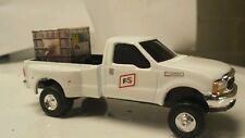 1/64 CUSTOM Ford f350 fs coop TRUCK WITH toter of roundup ERTL dcp  DISPLAY