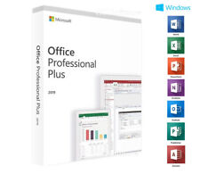 Microsoft Office Professional Plus 2019 for Windows 10 (26917068) - 1 License