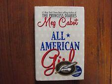 "MEG CABOT  Signed Book(""ALL AMERICAN GIRL""(w/Postcard)-2002 1st Edition Hardback"