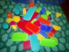 Stickle Bricks Asstd Colours And Shapes 42 pieces on a box