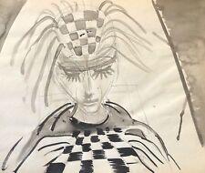 Encre Jeux d' échecs Dame anonyme circa 1960 Reine