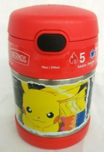 Thermos Cup Pokémon 10oz Food Jar w/ Spoon - Red - FUNtainer
