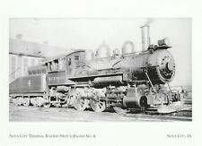 "*Postcard-""Terminal Railway Switch Engine No. 4"" *Sioux City IA (#348)"