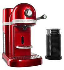 KitchenAid  Candy Apple Red Nespresso Espresso Maker with Milk Frother