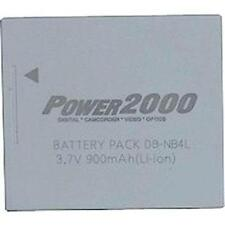 Power2000 NB-4L/H NB-4L Battery for Canon S10 S20 SD30 SD40, ELPH 310 HS, 330 HS