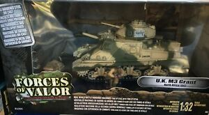 FORCES OF VALOR UK M3 GRANT NORTH AFRICA - FACTORY SEALED 1/32 SCALE