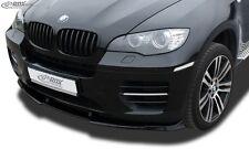 Front SpoileR, Lip spoiler,Extension, Splitter,BMW X6 E71 (incl. M50) BMW