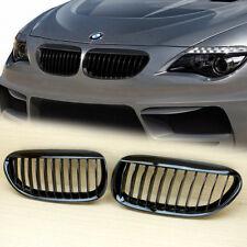 Shiny Black BMW E63 E64 LCI M6 Convertible coupe Front Grille  630 635 645 650
