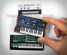 Moog Prodigy, Roland SH-7, Roland TR-606 2D MAGNET SET vintage synthesizer