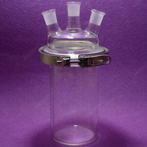 3-necks Reaction Flask,2000ML,Separately flask,Cylinder shape,reactor flask