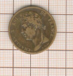 colonies générales 5 centimes Charles X 1827  H