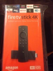 Brand New Amazon Fire TV Stick 4KHD with Alexa Voice Remote