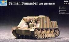 Trumpeter German Brummbär Late Production spät  Modell-Bausatz 1:72 NEU OVP kit