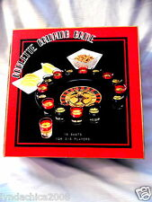 Roulette Drinking Casino Turntable Party Game - 16 Glasses Bar Set COMPLETE