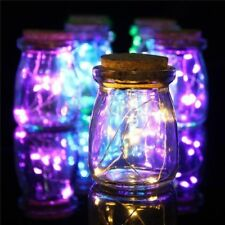 10/20/30/40 LED Battery Fairy String Lights Micro Rice Copper Wire Party XMAS UK