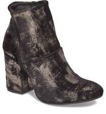 $279 size 38.5 US 8 Charles David Celeste Metallic Boots Womens Shoes Italy NEW