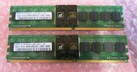 Samsung M395T2953CZD-CD50 2GB (2x1GB) PC2-4200 DDR2 ECC CL4 240P DIMM Memory