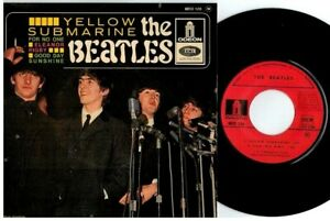 THE BEATLES Yellow Submarine EP 45rpm 7' + PS 1966 FRANCE MINT-