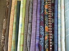 #50 Vintage Japanese Kimono Fabric, Silk Scrap Remnants, 20 Piece Bundle