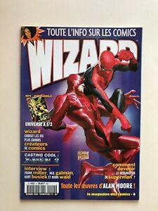 WIZARD Comics Magazine vol 1 #4  2000 French Spider-Man Daredevil Ross Quesada