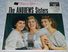 NEW SEALED! ANDREWS SISTERS Near You VOCALION VL 3611 LP