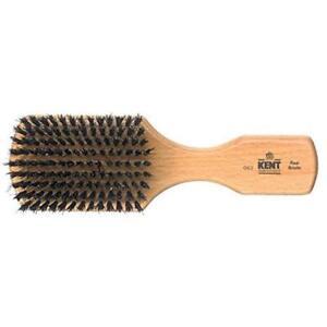 KENT OG2 BEECH WOOD 7.5 CURLY AFRO HAIR BEARD MUSTACHE BLACK BOAR BRISTLES