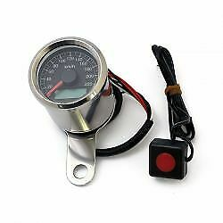 Stoker electronic speedometer. 48 mm 240 KMH (In ya dreams). BigBoar Motorcycles