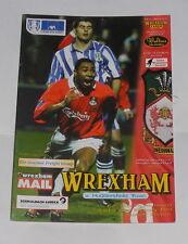Wrexham -v- Huddersfield Town 1998-1999