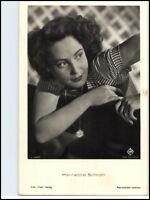Porträt Postkarte Bühne Kino Film Foto Verlag Schauspielerin Hannelore Schroth