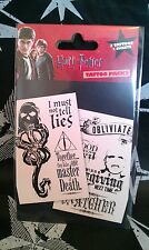 Harry Potter Tattoo Set Official Warner Bros London Tour - Great fun - Must have