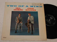 G.MULLIGAN:LP-TWO OF A MIND-1° PRESS ITALY MONO 1963 EX
