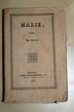 MARIE POEME-BRIZEUX-BRETAGNE-1837